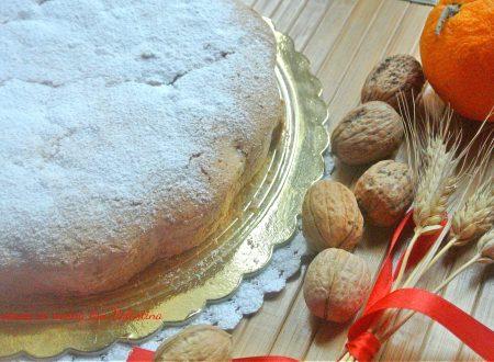 Torta noci panna e arancia