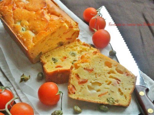 Cake salato alla pizzaiola