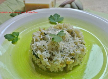 Risotto Carciofi e parmigiano