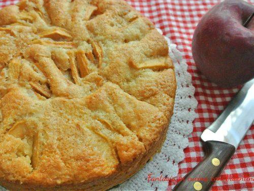 Torta di mele leggera (senza uova e burro)