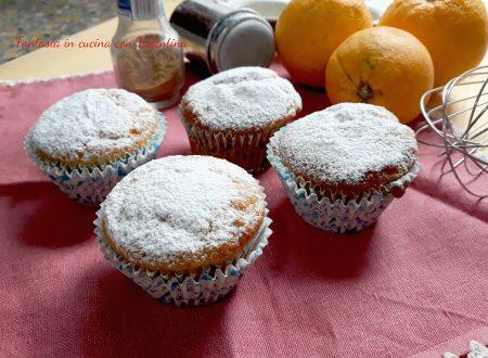 Muffin yogurt arancia e cannella