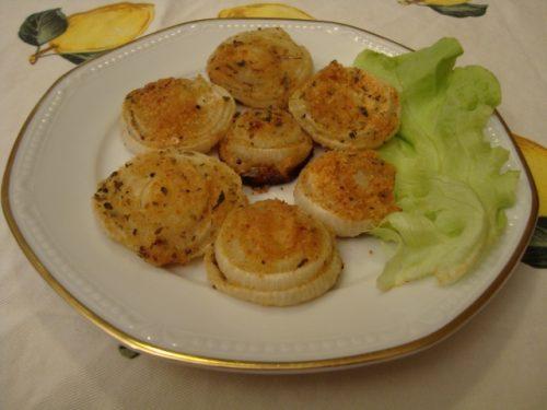Cipolle gratinate