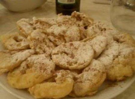 Mele fritte in pastella di zia Alessandra