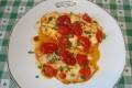 Filetti di rombo e pomodorini