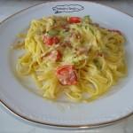 Tagliolini speck zucchine e zafferano ricetta fantasie a tavola