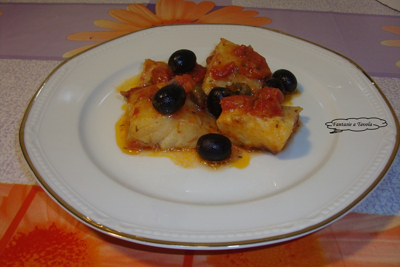 Baccalà in umido ricetta di mare fantasie a tavola