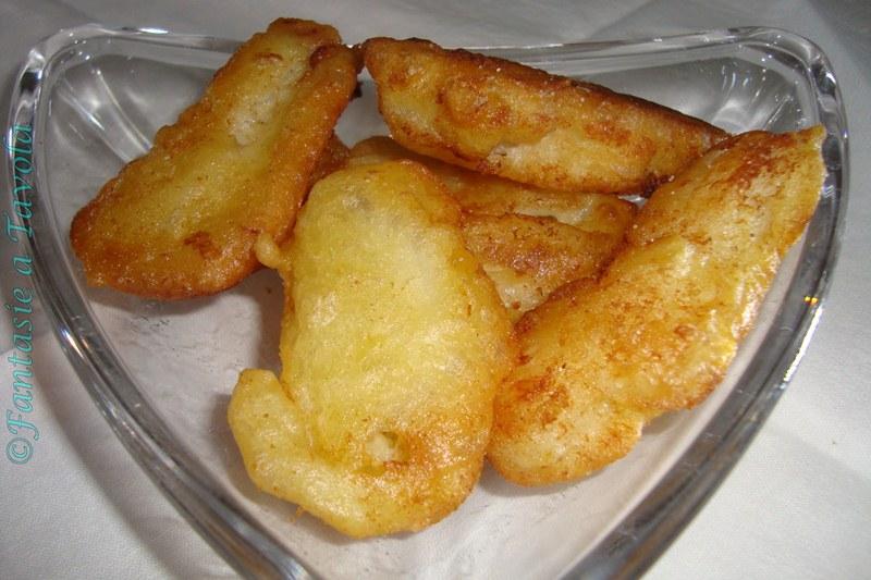 Filetti di baccalà in pastella - ricetta di mare - fantasie a tavola