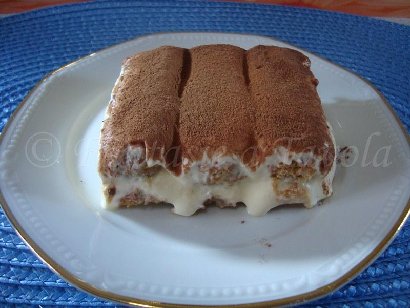 Tiramisù ricetta dolce di Fantasie a Tavola