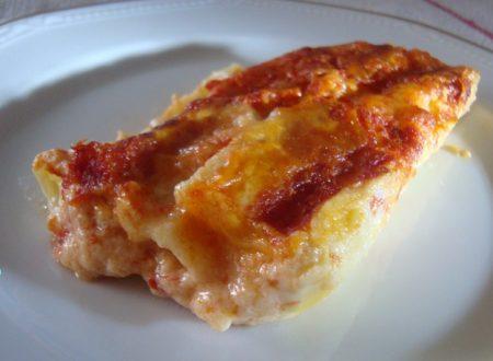 Cannelloni ricotta e zucchine