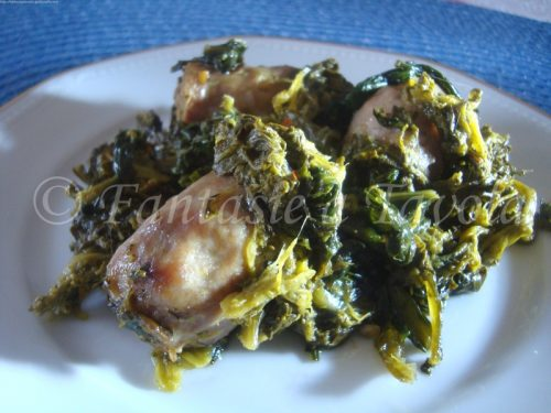 Salsicce alle verdure campagnole