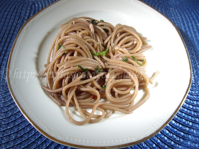 Spaghetti ubriachi ricetta particolare di Fantasie a Tavola