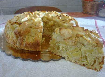 Torta semplice di mele