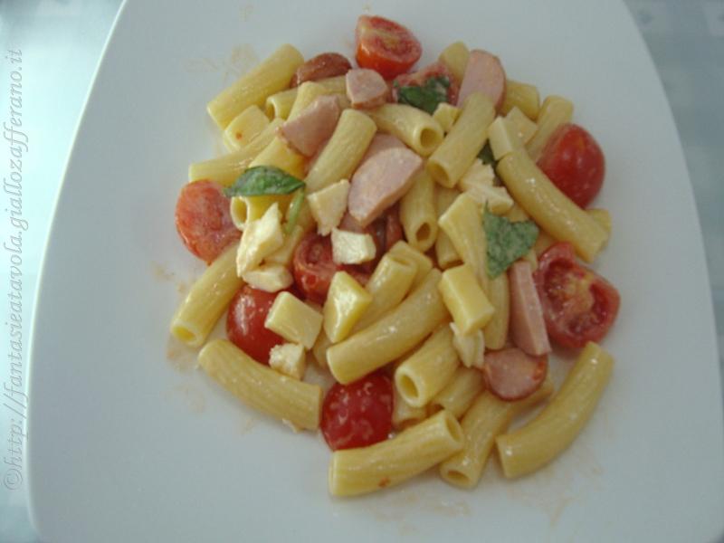 Pasta fresca ricetta saporita e colorata di Fantasie a Tavola