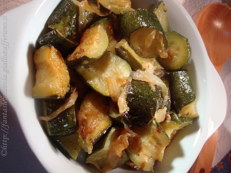 Zucchine di nonna Teresina ricetta vegetariana di Fantasie a Tavola