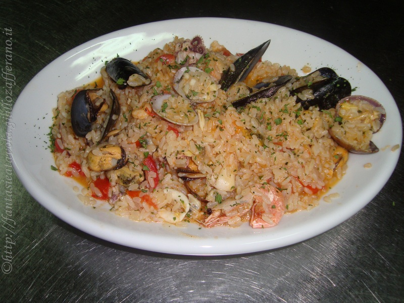 Risotto ai frutti di mare ricetta ricetta di mare di FantasieaTavola