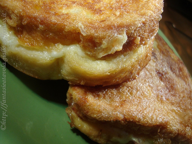 Mozzarella in carrozza ricetta semplice di Fantasie a Tavola