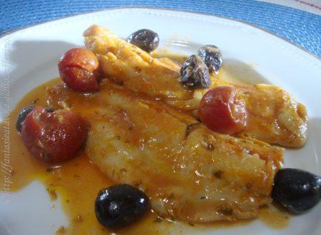 Filetti di pesce alle olive