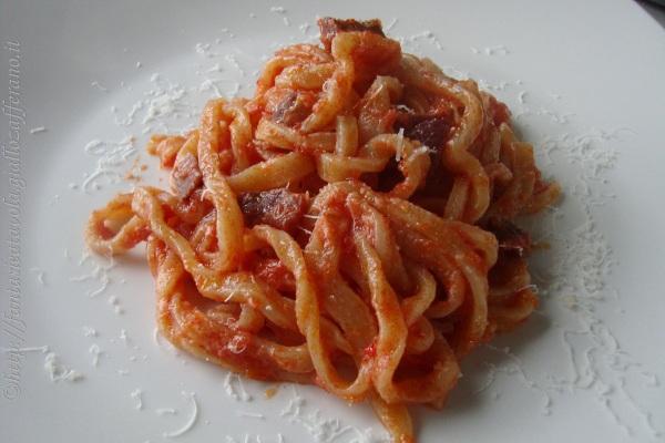 Sagne alla contadina ricetta popolare Fantasie a Tavola