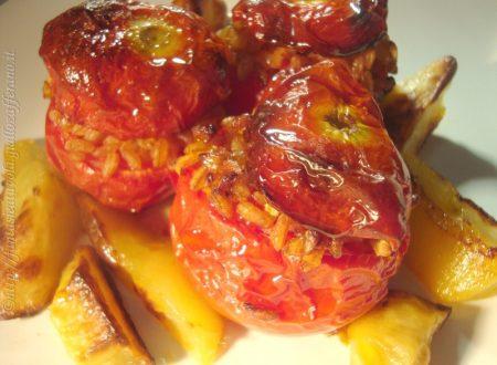 Pomodori ripieni con farro