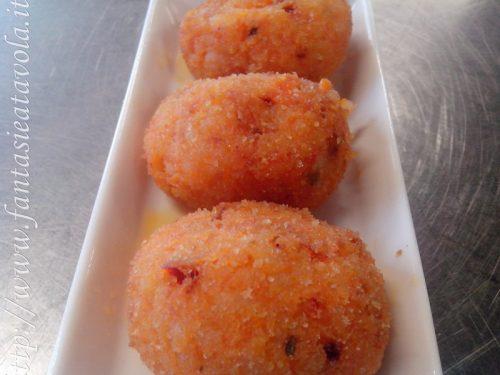 Crocchette di riso calabresi