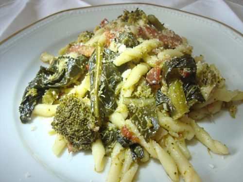 Trofie broccoli e speck