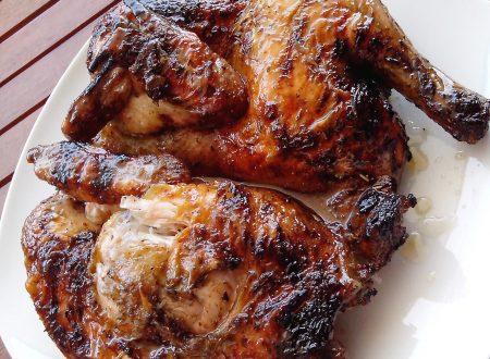 Pollo grigliato al BBQ
