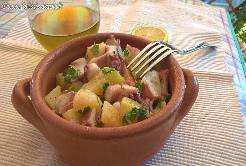 Polpo e patate di Fantasie a Tavola