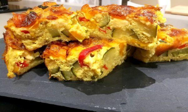 Frittata al forno con verdure