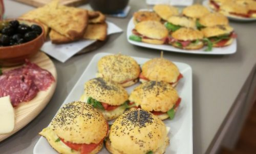 Mini panini da aperitivo