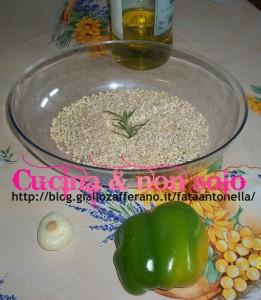 orzotto ai peperoni ricetta personale