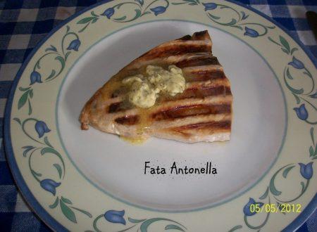 Pesce Spada alla graticola , ricetta grigliate