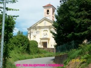 Chiesa di Caraceto-Brusnengo-paese-fata antonella
