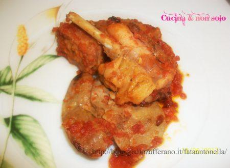 Coniglio al pomodoro – ricetta Francese
