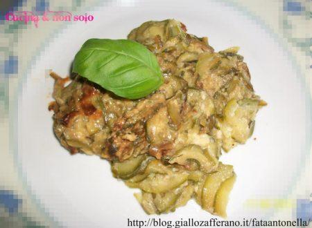 Gratin di zucchine, ricetta personale