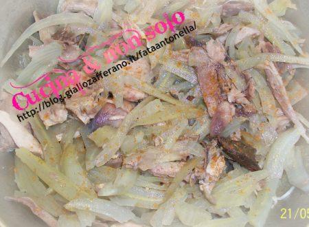 Insalata di Pernice e Finocchi , ricetta raffinata