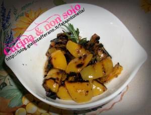insalata tiepida di peperoni ricetta AMC fata antonella