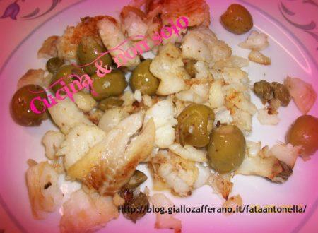 Spezzatino di Merluzzo con capperi ed olive