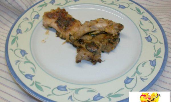 Coniglio arrosto, ricetta biellese