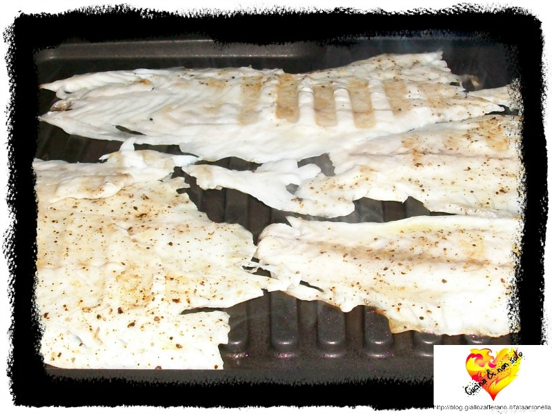 filetti di orata alla griglia ricetta fata antonella