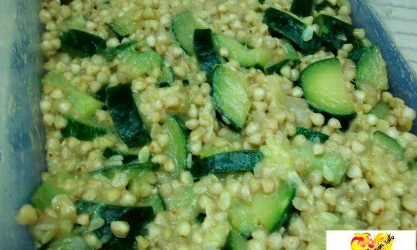 Grano saraceno alle zucchine, ricetta personale