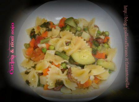 Pastasciutta alle verdure, ricetta veloce