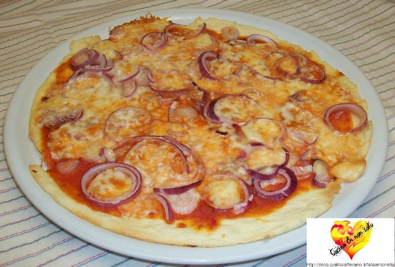 pizza alle cipolle ricetta per microonde fata antonella