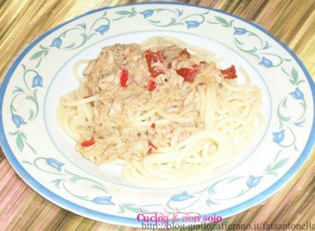 Spaghetti al tonno, ricetta veloce