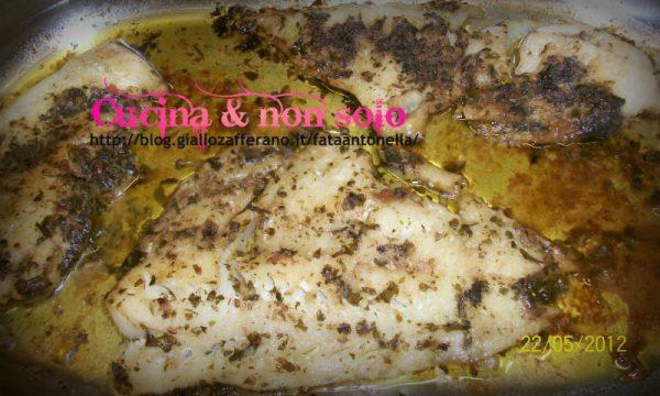 Filetti di merluzzo alla siciliana, ricetta