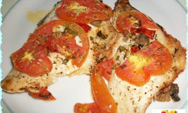 Filetti di orata alla pizzaiola, ricetta