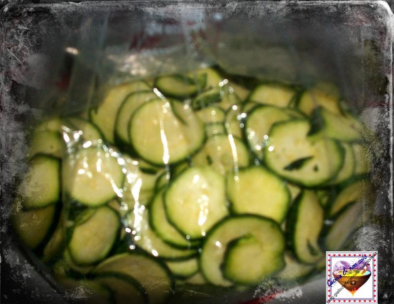zucchine sottozero ricetta congelare fata antonella