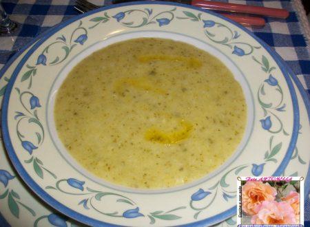 Crema di zucchine di Carla, ricetta