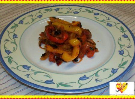 Peperonata Biellese, ricetta