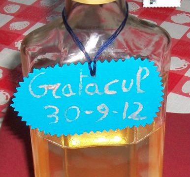 Gratacul, ricetta liquori