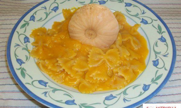 Pasta con Zucca, ricetta personale